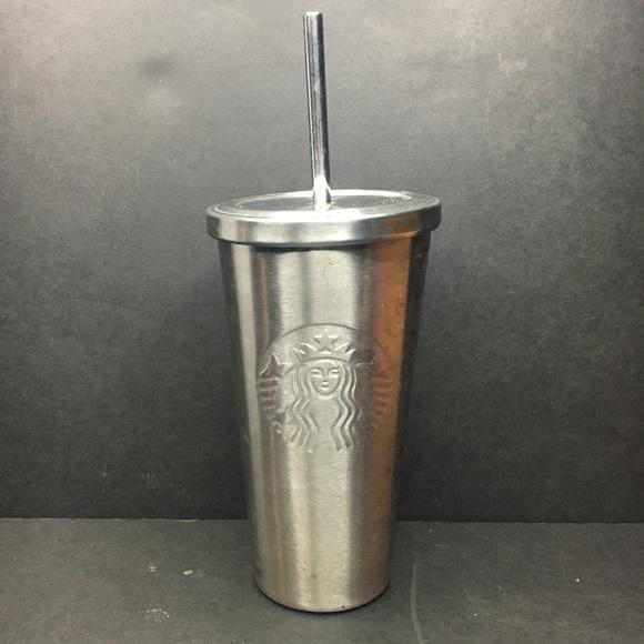 Starbucks Textured Tumbler Stainless Steel Straw